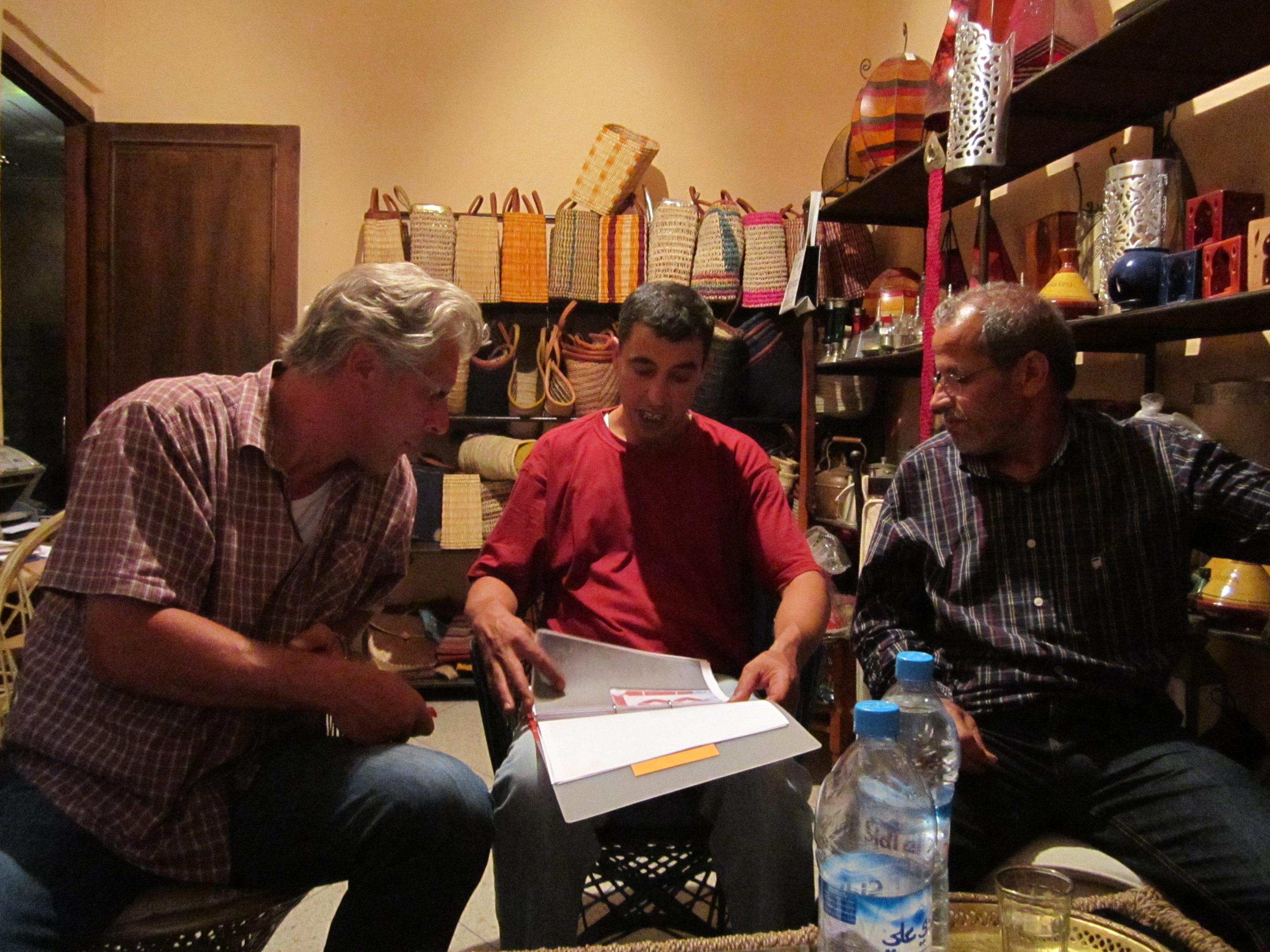 Marokkanische Eisenmoebel